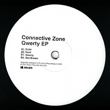 Cover art - Connective Zone: Qwerty