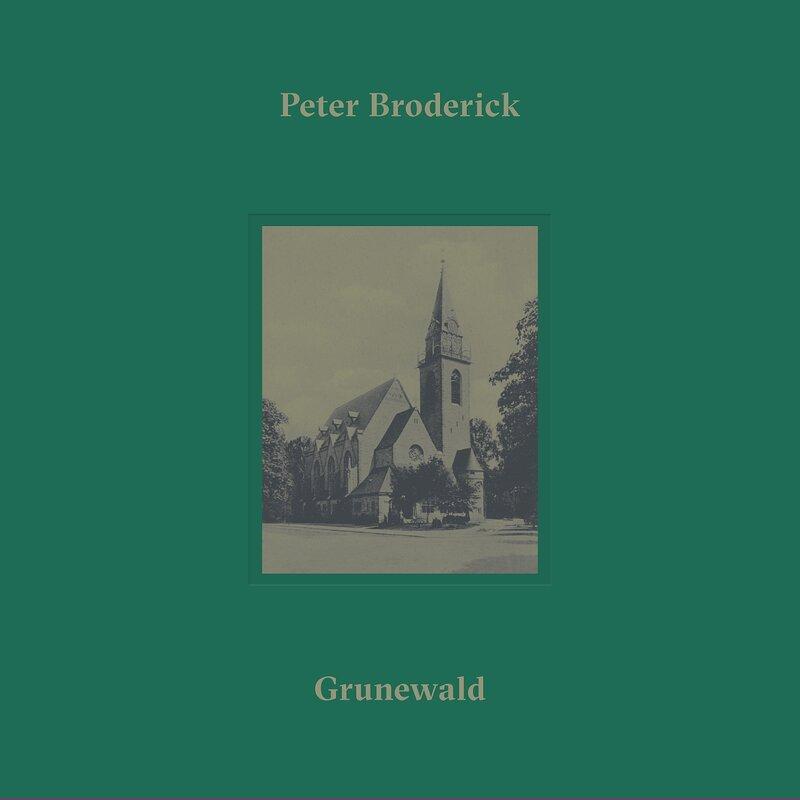 Cover art - Peter Broderick: Grunewald