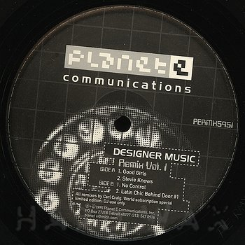 Cover art - Designer Music: Remix Vol. 1