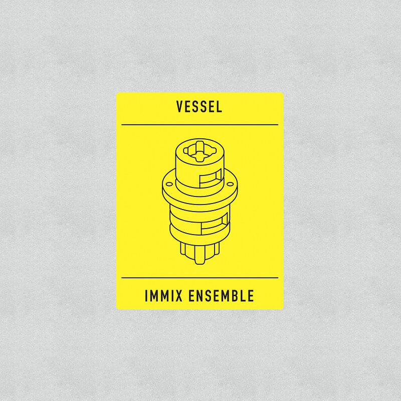 Cover art - Immix Ensemble & Vessel: Transition