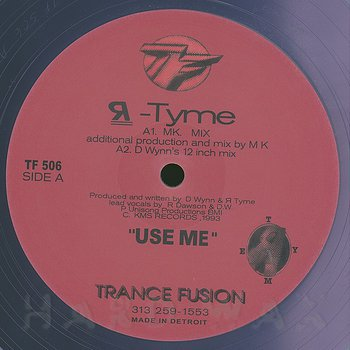 Cover art - R-Tyme: Use Me