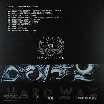 Cover art - Dax J: Utopian Surrealism LP