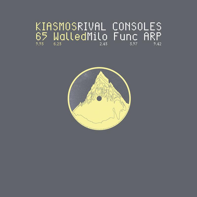 Cover art - Kiasmos, Rival Consoles: 65 / Milo
