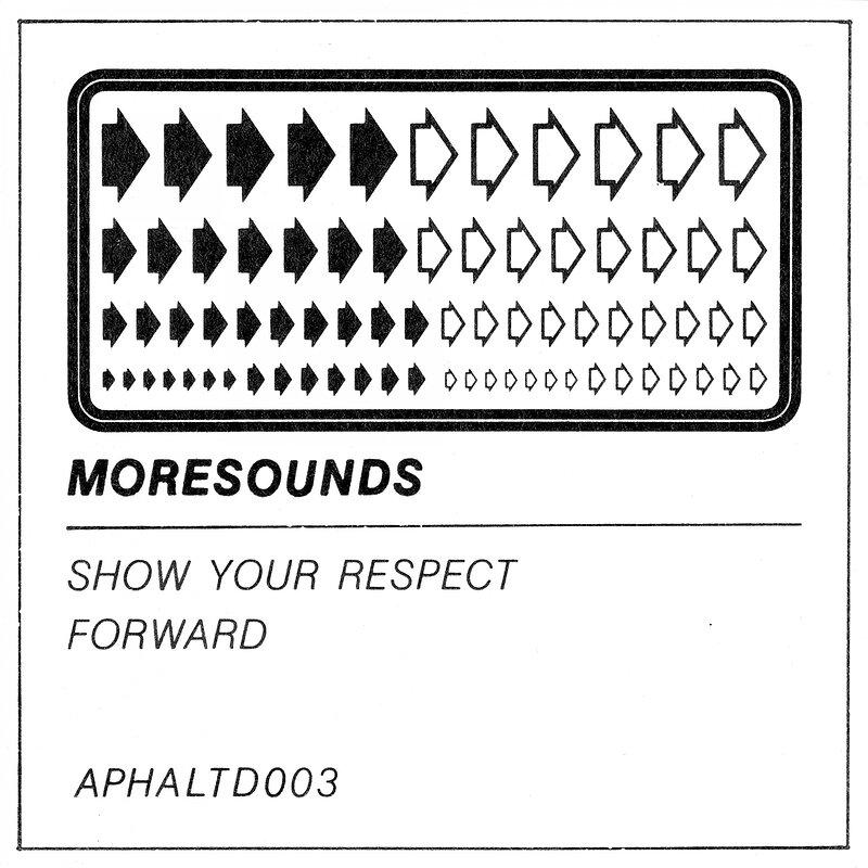 Cover art - Moresounds: Show Your Respect