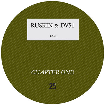Cover art - James Ruskin & DVS1: Chapter One