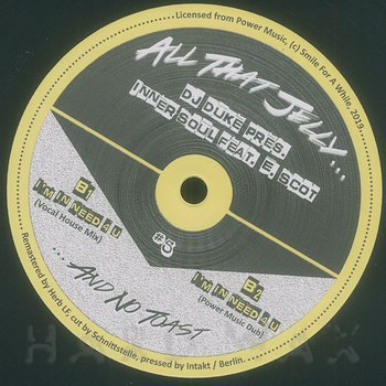 Cover art - DJ Duke: pres. Inner Soul feat. E. Scot: I'm In Need 4 U