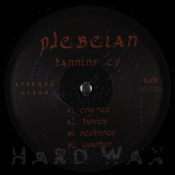 Cover art - Plebeian: Tannins EP