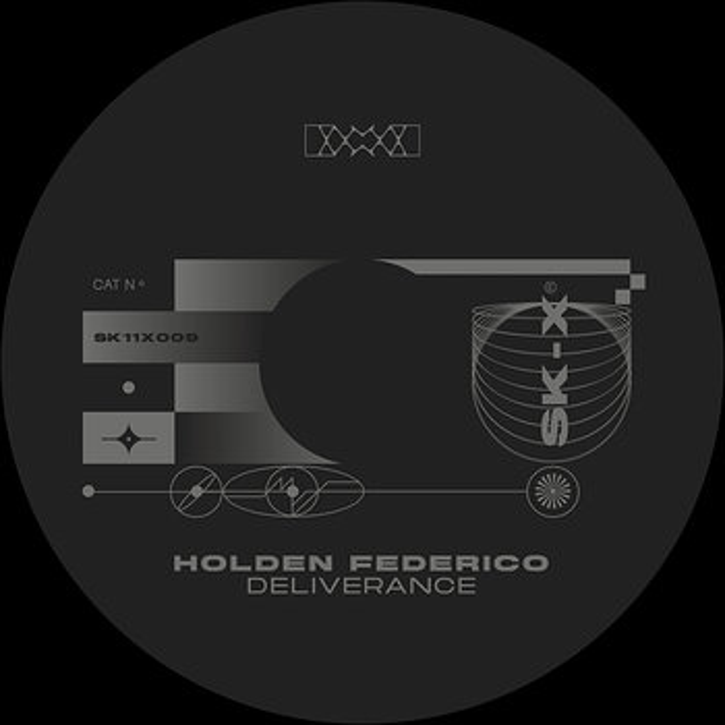 Cover art - Holden Federico: Deliverance