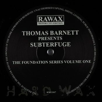 Cover art - Subterfuge: The Foundation Series Volume One