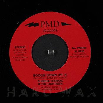 Cover art - Bubbha Thomas & The Lightmen: Boogie Down