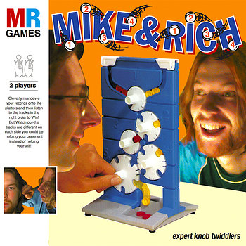 Cover art - Mike & Rich: Expert Knob Twiddlers
