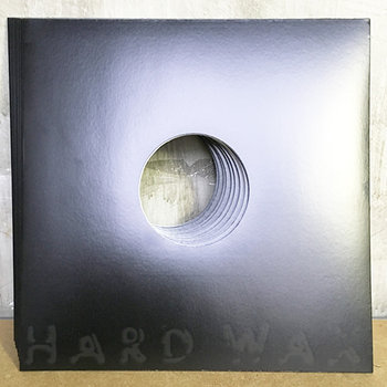 "Cover art - 10x Generic 12"" Cover: Black, w/ hole"
