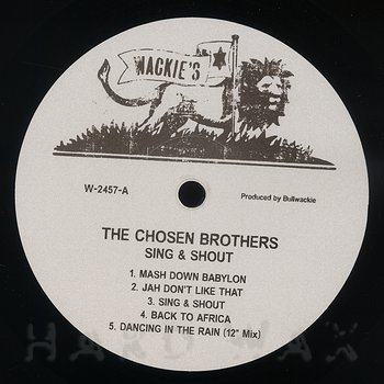 Cover art - The Chosen Brothers: Sing & Shout
