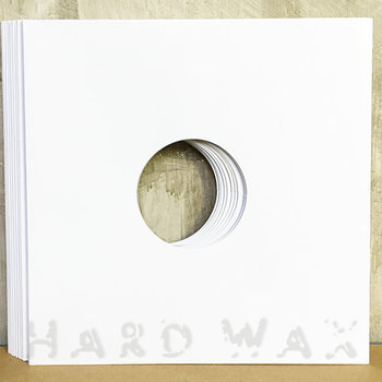 "Cover art - 10x Generic 12"" Cover: White, w/ hole"