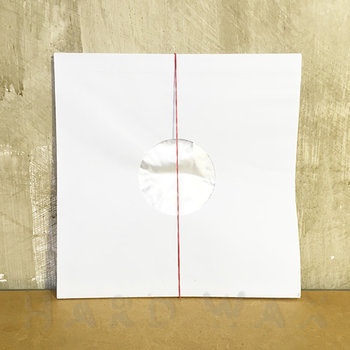 "Cover art - 25x Polylined 10"" Paper Sleeves: White"