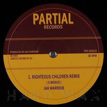 Cover art - Jah Warrior: Righteous Children