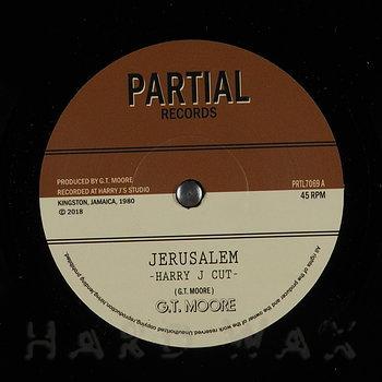 Cover art - G.T. Moore: Jerusalem (Harry J Cut)