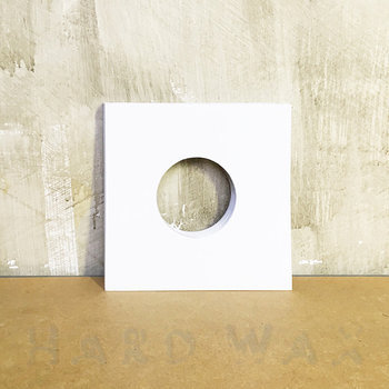 "Cover art - 20x Generic 7"" Cover: White, w/ hole"