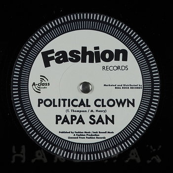 Cover art - Papa San: Political Clown