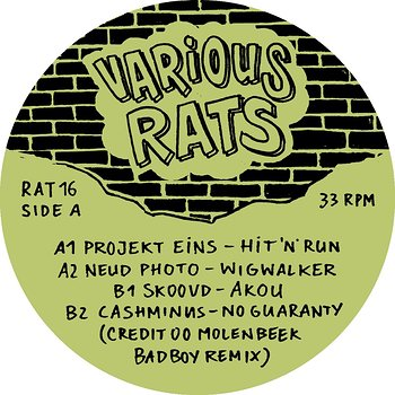 Cover art - Various Artists: Various Rats