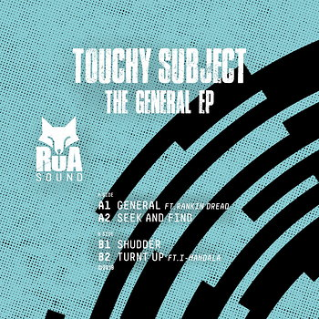 Cover art - Touchy Subject: The General EP