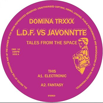 Cover art - L.D.F. vs Javonntte: Tales From The Space