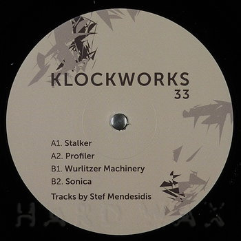 Cover art - Stef Mendesidis: Stalker