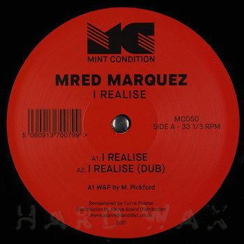 Cover art - Mred Marquez: I Realise