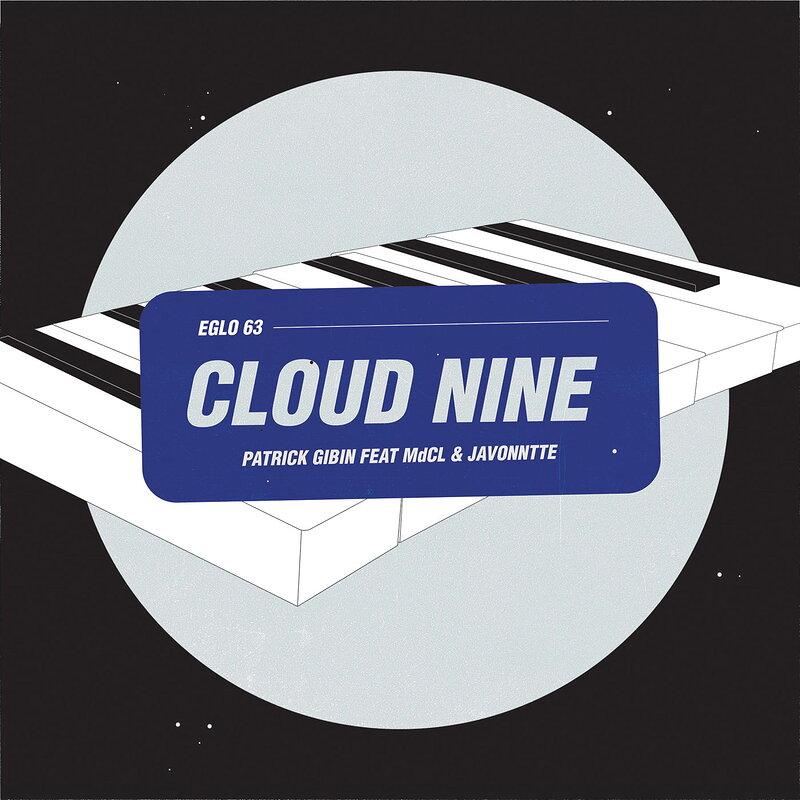 Cover art - Patrick Gibin: Cloud Nine