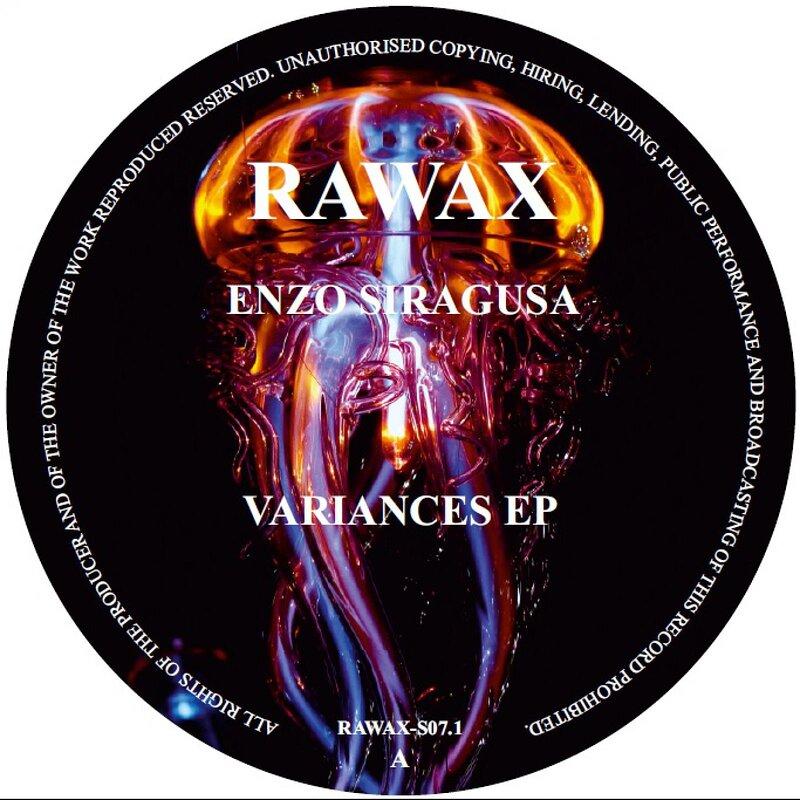 Cover art - Enzo Siragusa: Variances EP