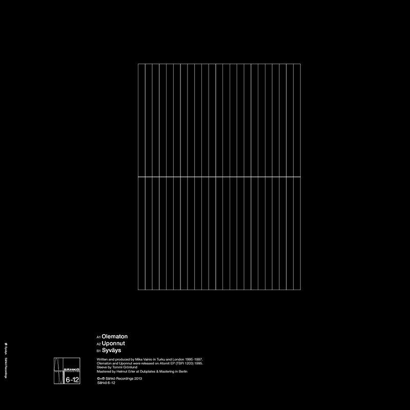 Cover art - Ø: Syväys