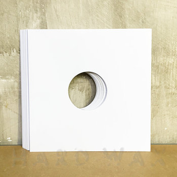 "Cover art - 20x Generic 10"" Cover: White, w/ hole"