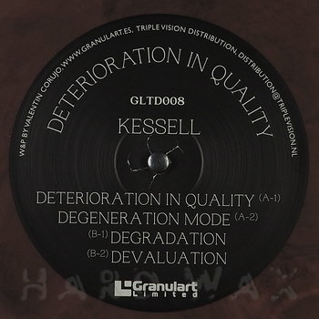 Cover art - Kessell: Deterioration In Quality
