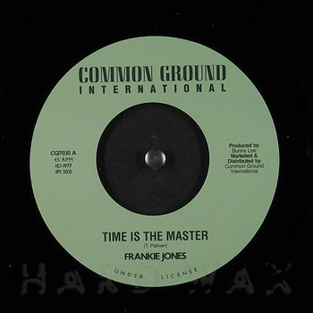 Cover art - Frankie Jones: Time Is The Master