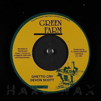 Cover art - Devon Scott: Ghetto Cry