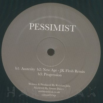 Cover art - Pessimist: Austerity EP