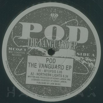 Cover art - Kenny Larkin: POD: The Vanguard EP
