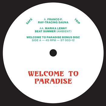"""Cover art - Various Artists: Welcome To Paradise 12"""""""