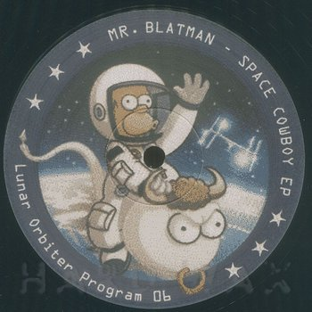 Cover art - Mr. Blatman: Space Cowboy EP