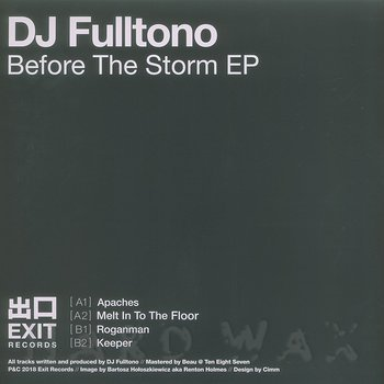 Cover art - DJ Fulltono: Before The Storm EP
