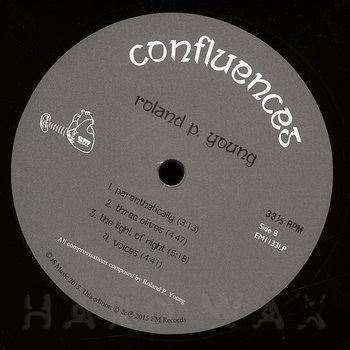 Cover art - Roland Young: Confluences
