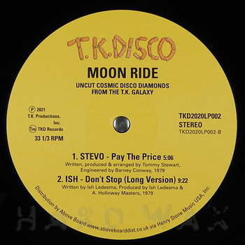 Cover art - Various Artists: Moon Ride