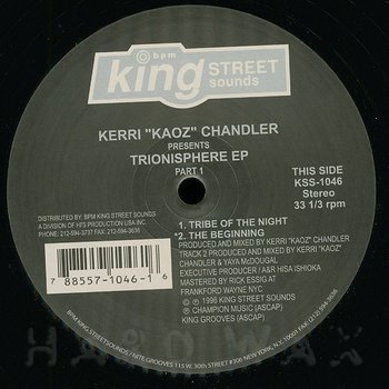Cover art - Kerri Chandler: Trionisphere EP Part. 1