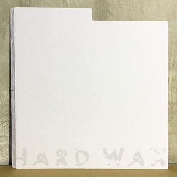 "Cover art - 10x Cardboard 12"" Divider: White, w/ index"
