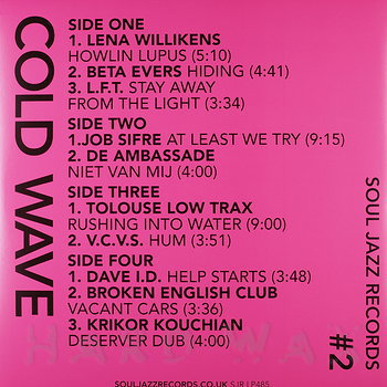 Cover art - Various Artists: Cold Wave 2