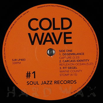 Cover art - Various Artists: Cold Wave 1