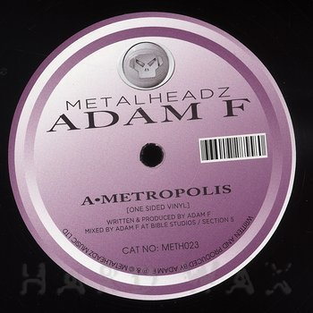 Cover art - Adam F.: Metropolis
