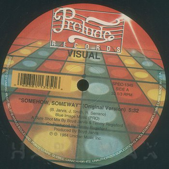 Cover art - Visual: Somehow, Someway