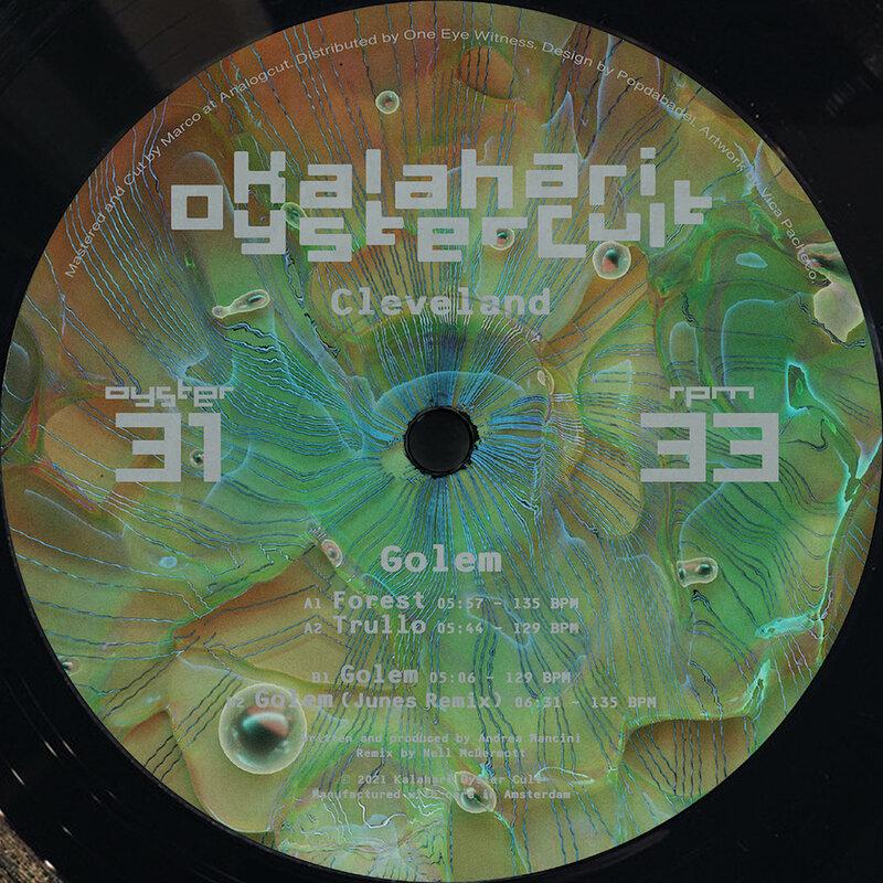 Cover art - Cleveland: Golem