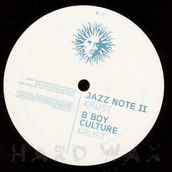 Cover art - DJ Krust: Jazz Note II